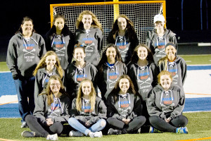 The new Holly/Brandon Lacrosse team. Photo by Mo Voyer.