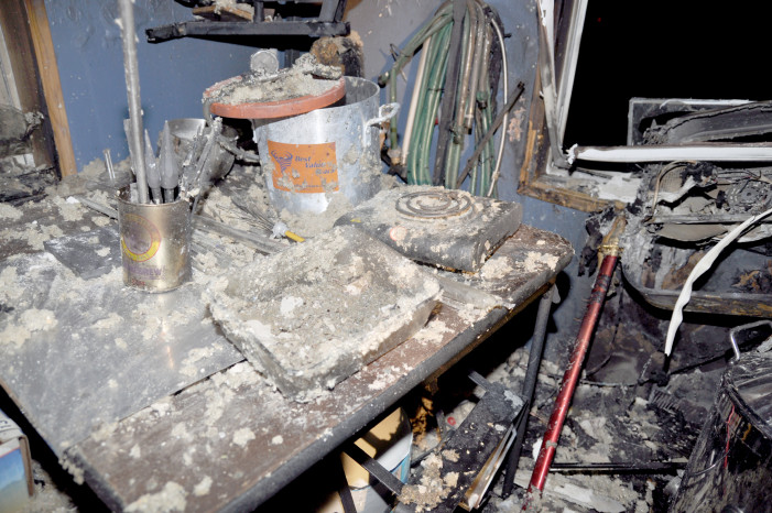 Brandon Township man severely burned after distilling drugs
