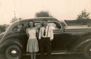Bud and Elaine September 1942