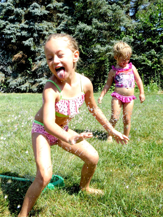 Little sprinklers