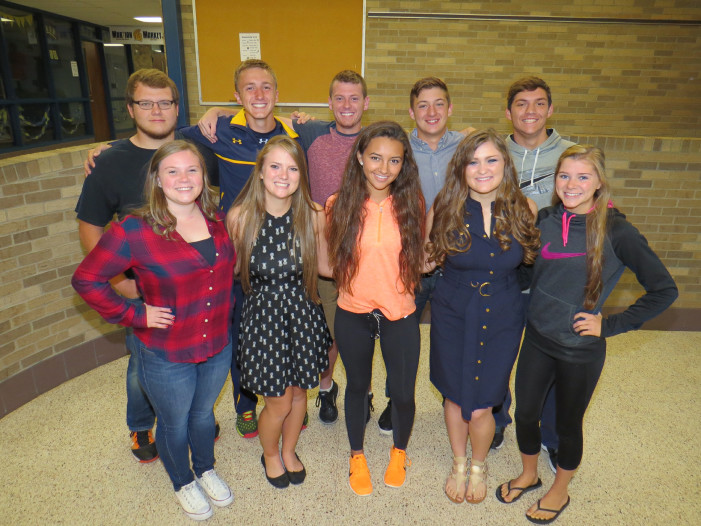 Goodrich Homecoming Court