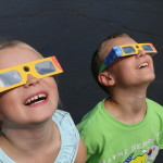 IMG_6008 Ellison Steele 3 and Cole Steele 7 are wearing some of the Solar eclipse glasses1
