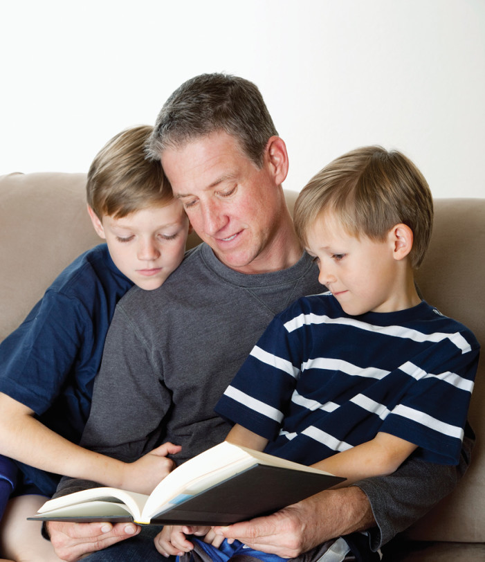 Father and son conversations can be fun — if not enlightening