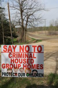 Say No To group homes