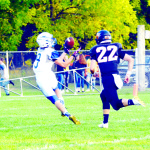 #9 Brendan McClusky makes the catch