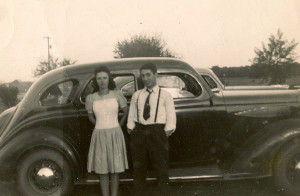 Bud and Elaine September 1942