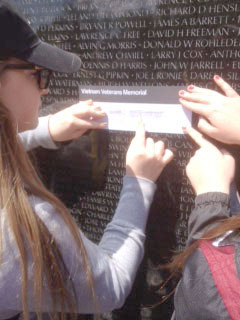 'There were so many names on that wall'