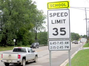 IMG_3792 The School Speed Sign by st ann (1)