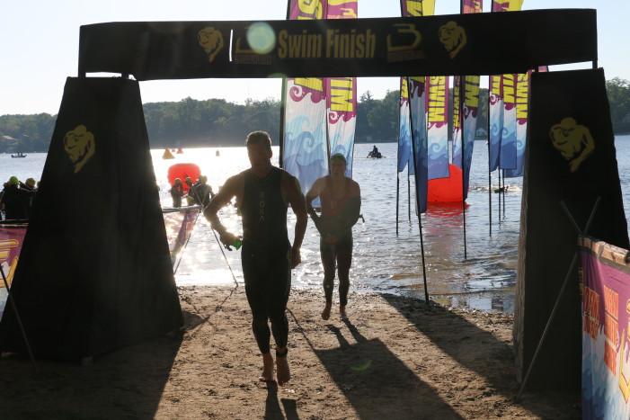 Triathlon drives father toward fitness, health