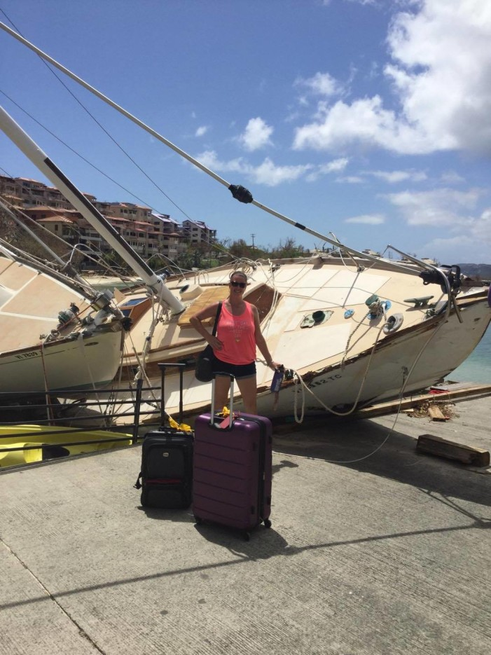 Goodrich grad survives Hurricane Irma in Caribbean