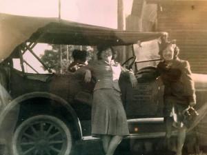 Leece with Car