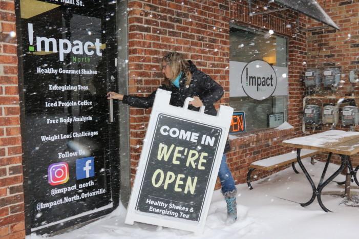 Snowy impact