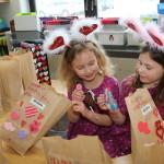 IMG_6873 Brianna 6 Adrianna 6 VanHorrick Ried Elem Valentines day Kathy Smith Kindergarten