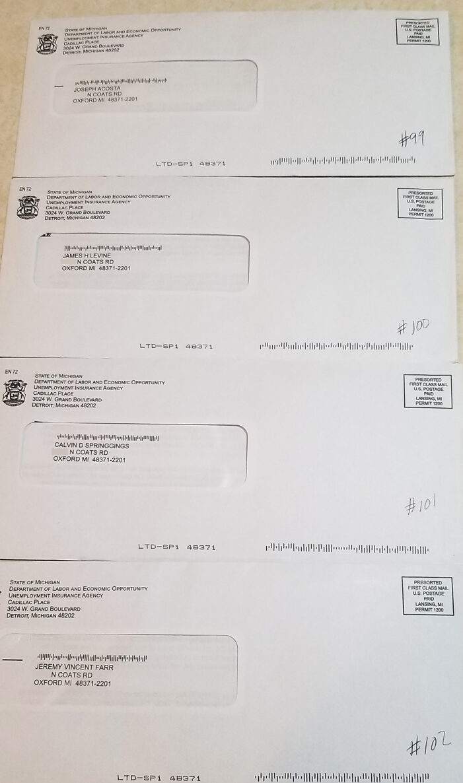 From ye ol' mailbox(es)